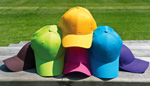 Collection of colourful hats