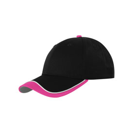 contrast tipped cap pink