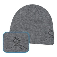 Player Beanie in Slate Grey